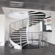 New style curved staircase PR-C05