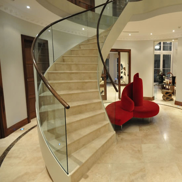 Morden Curved Marble Staircase PR-C02