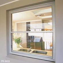 6mm thickness glass single hung window