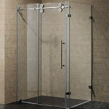 Customized shower enclosure tempered glass PR-SE04