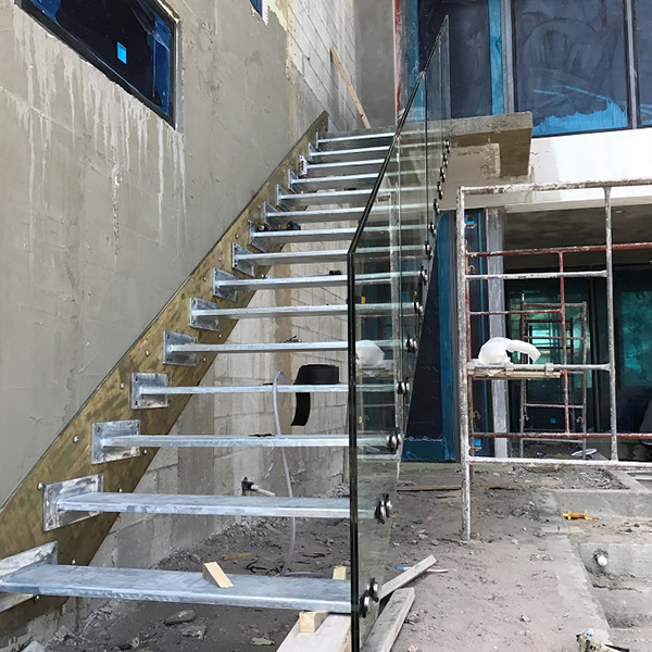 Outdoor floating stairs-Florida Project
